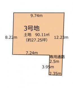 3号区画図