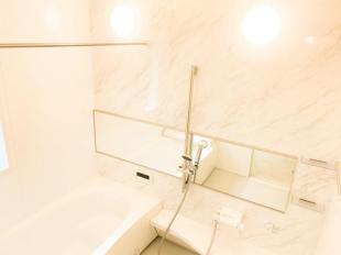 ●清潔感のある浴室は浴室乾燥機・浴室TV付き